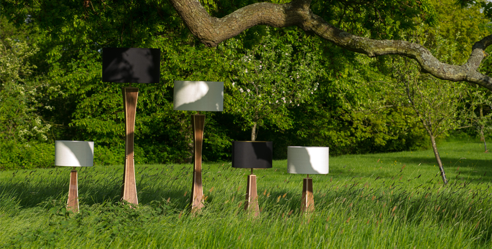 Stunning Lamps and Home Made Furniture In Suffolk