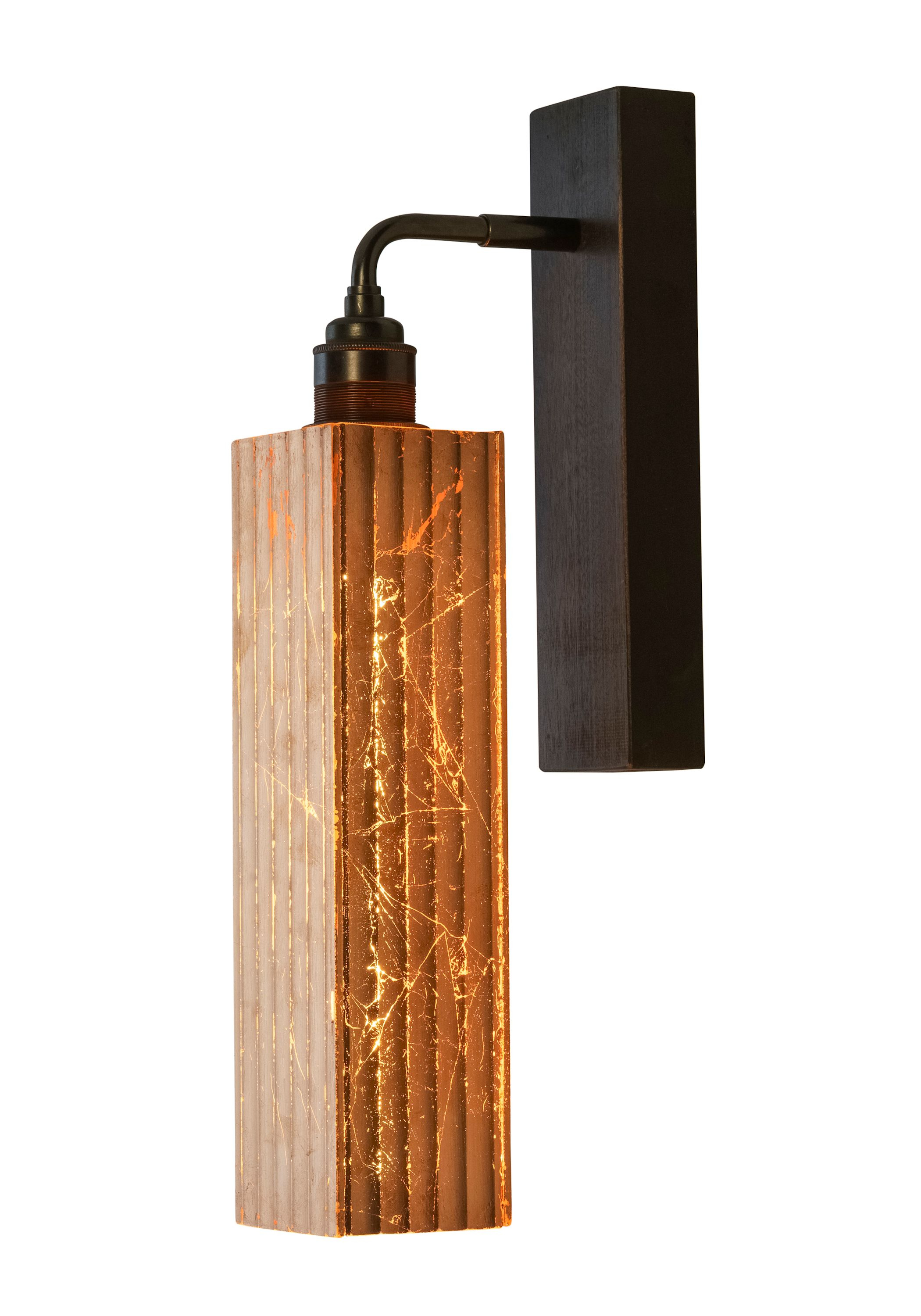 Alchemist Collection Copper Leaf Long Glass Bathroom Wall